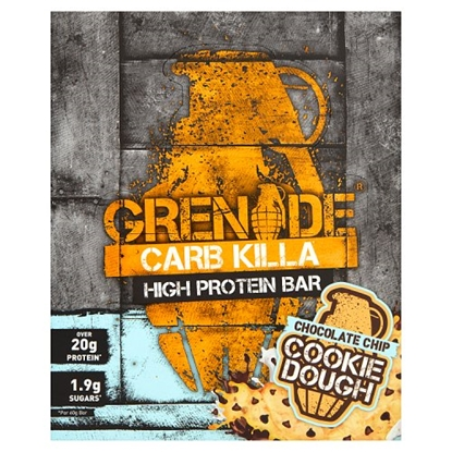 Picture of GRENADE BARS CHOCOLATE CHIP COOKIE DOUGH 60G X