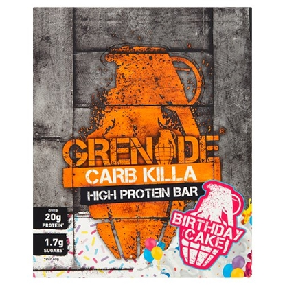 Picture of GRENADE BARS BIRTHDAY CAKE 60G X 12