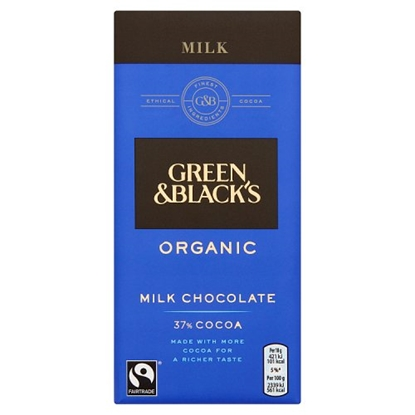 Picture of GREEN & BLACKS MILK 100G X 15