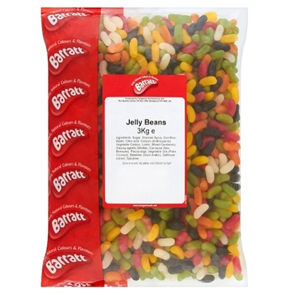 Picture of BARRATT W/O JELLY BEANS x 3KG BAG