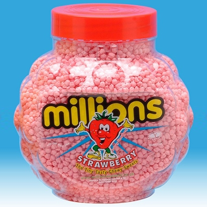 Picture of MILLIONS STRAWBERRY X 2.27KG
