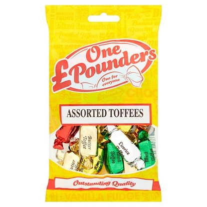 Picture of POUNDERS ASSORTED TOFFEES X 12