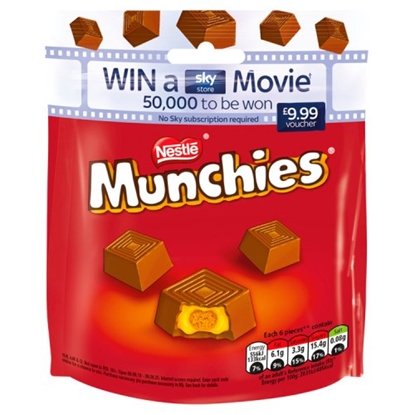 Picture of MUNCHIES *POUCH* 104G X 8