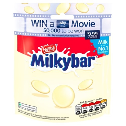 Picture of MILKYBAR GIANT BUTTON *POUCH* x 8