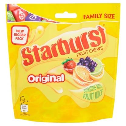 Picture of STARBURST ORIGINAL BAGS 210G x12