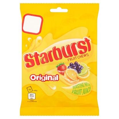 Picture of PM £1 STARBURST ORIGINAL BAGS 141G x 12