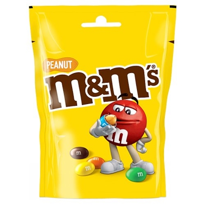 Picture of M&M'S NUT POUCH 140G X 12