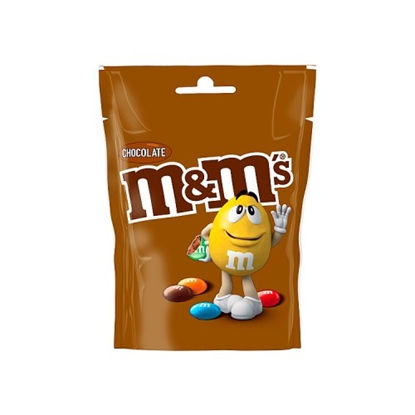Picture of M&M'S CHOCOLATE POUCH 125Gx12