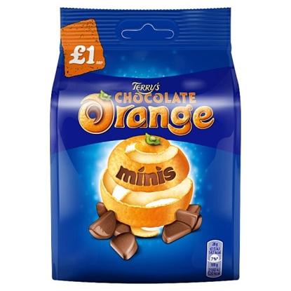 Picture of PM £1 TERRY CHOCOLATE ORANGE BITES 95G X 10