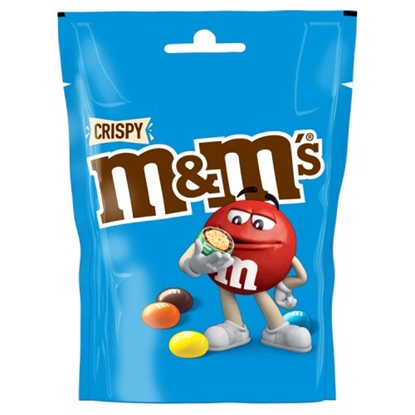 Picture of M&M'S CRISPY POUCH 121G X 12