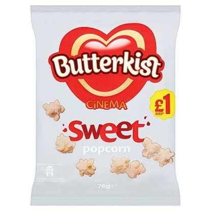 Picture of PM £1 BUTTERKIST CINEMA POPCORN 76G X 12