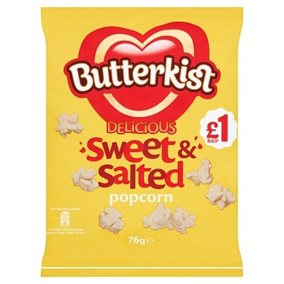 Picture of PM £1 BUTTERKIST SWEET & SALTED 76G X 12