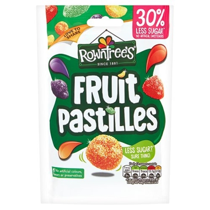 Picture of FRUIT PASTILLES *REDUCED* POUCH X 10