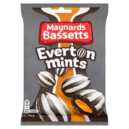 Picture of EVERTON MINTS 192G BAG X 12