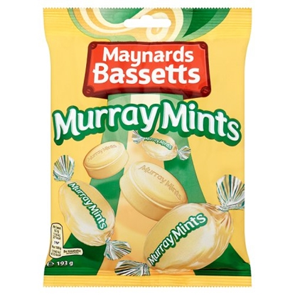 Picture of MURRAY MINTS 193G BAGS X 12