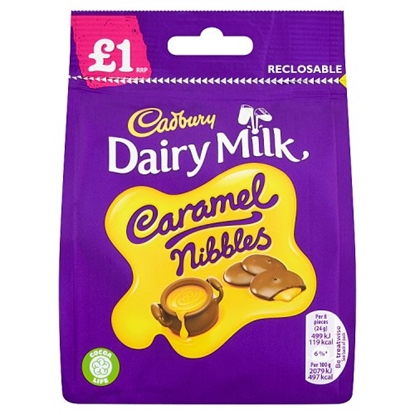 Picture of PM £1 CARAMEL NIBBLES 95G X 10