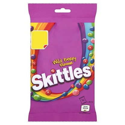 Picture of PM £1 SKITTLES WILD BERRY 125G x 12