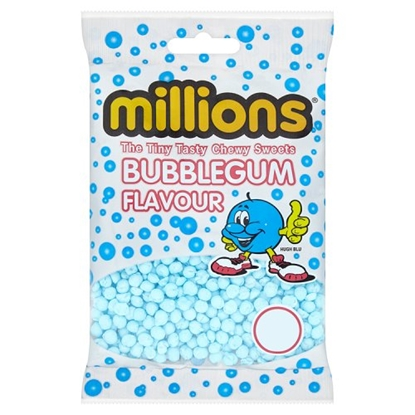 Picture of PM £1 MILLIONS BUBBLEGUM BAGS x 12