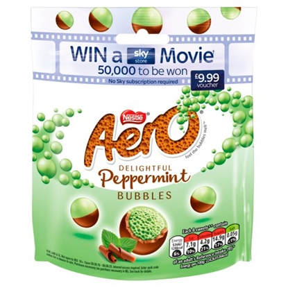 Picture of AERO BUBBLE *PEPPERMINT* POUCH 102G x 8