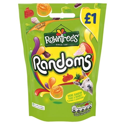 Picture of PM £1 ROWNTREES RANDOMS  BAGS 120G X 10