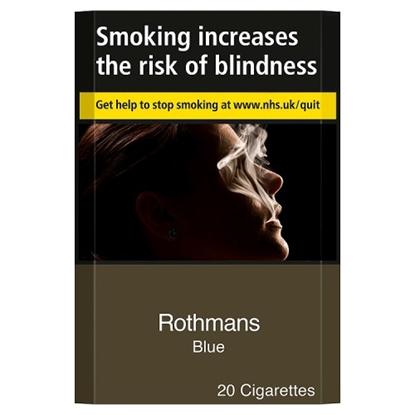 Picture of ROTHMANS K/S BLUE 20   6% POR til 18/7