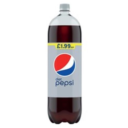 Picture of PM £1.99 DIET PEPSI 2LTR X 6