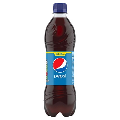 Picture of PM £1.15 PEPSI 500ML BOTTLE X 12