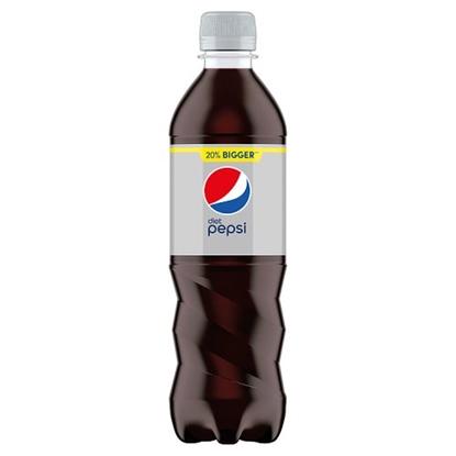 Picture of PEPSI *DIET* BOTTLE 500MLS X 24