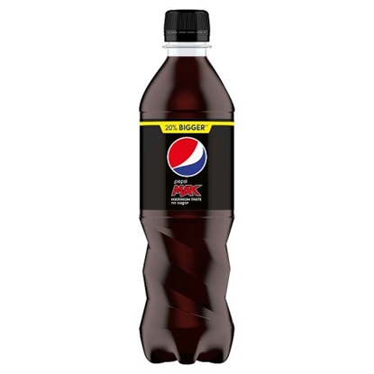 Picture of PEPSI MAX 500ML BOTTLE X 24