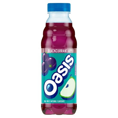 Picture of OASIS BLACKCURRANT & APPLE 500MLS X 12