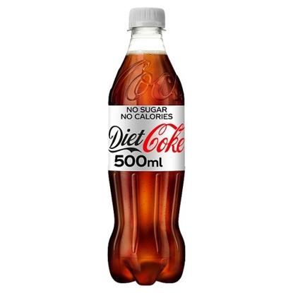 Picture of COKE  *DIET* 500MLS BOTTLES X 24