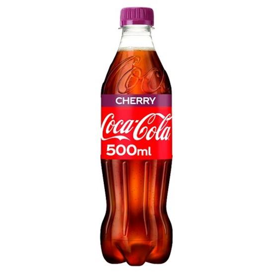 Picture of CHERRY COKE 500ML BOTTLES X 12