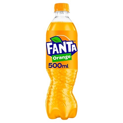 Picture of  FANTA ORANGE 500ML BOTTLES  **24s**