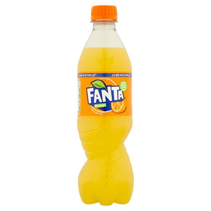 Picture of PM £1 FANTA ORANGE 500MLS X 12
