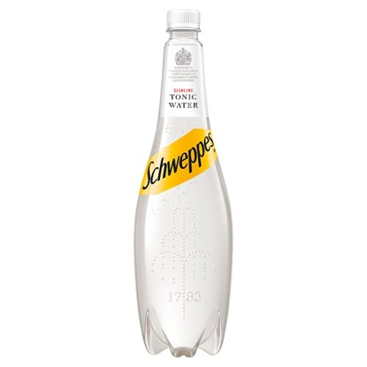Picture of SCHWEPPES SLIMLINE TONIC 1LTR x 6
