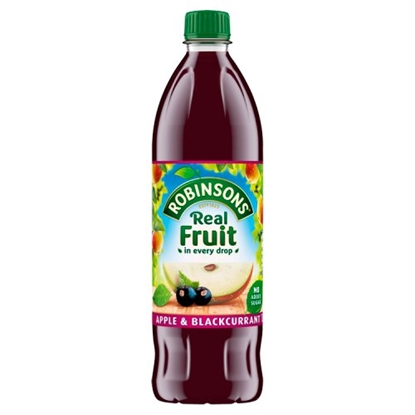 Picture of ROBINSONS  APPLE & BLACKCURRANT *NAS* 1LTR X 12