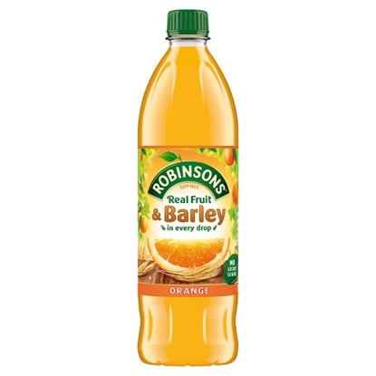 Picture of ROBINSONS  FRUIT & BARLEY ORANGE *1LTR* X 12
