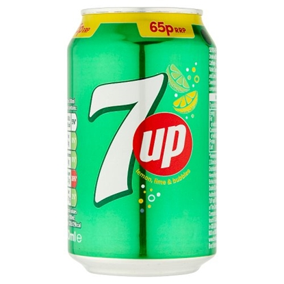 Picture of PM 59P/ 2 for £1 7UP CANS X 24