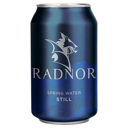 Picture of RADNOR STILL SPRING WATER 330ML X 24 CANS