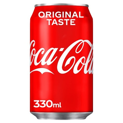 Picture of COKE CANS 330MLS X 24