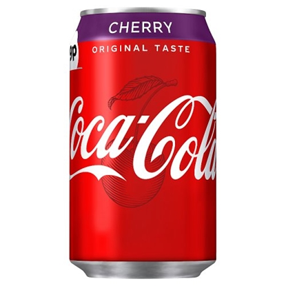 Picture of PM 79P CHERRY COKE CANS 330ML X 24