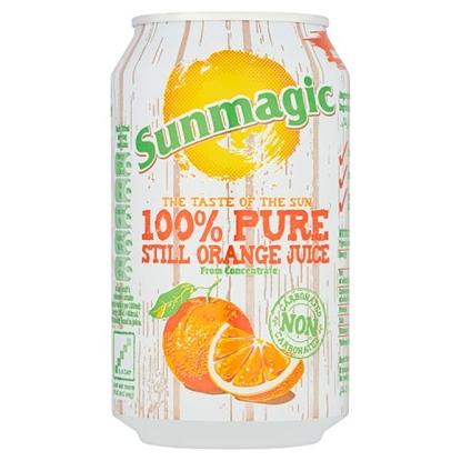 Picture of SUNMAGIC PURE ORANGE CANS X 24