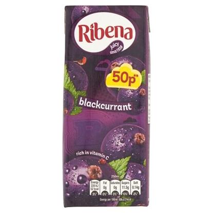 Picture of PM 50P RIBENA BLACKCURRANT *RTD* 250ML X 24