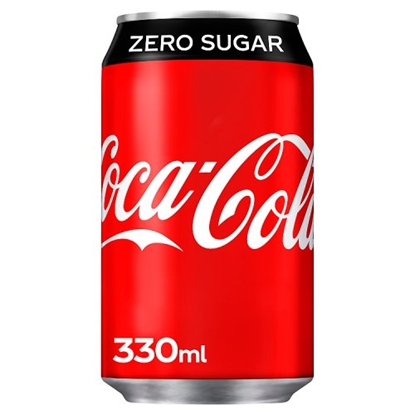 Picture of COKE *ZERO* CANS 330MLS X 24