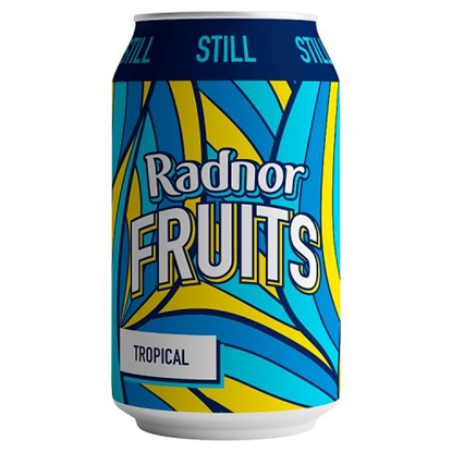 Picture of RADNOR FRUITS TROPICAL CAN 330ML X 24