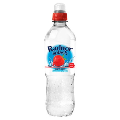 Picture of RADNOR SPLASH SPORTS STRAWBERRY 500ML X 24