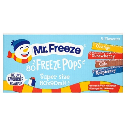 Picture of ICE POLES MR FREEZE 90ML x 80