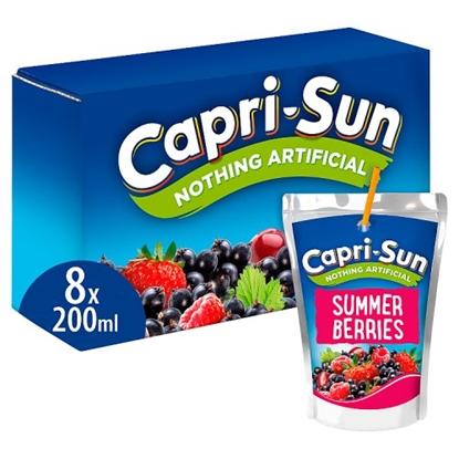 Picture of CAPRI SUN SUMMER BERRIES 200ML X 8 X 4