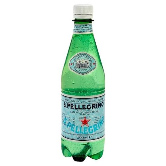 Picture of SAN PELLEGRINO SPARKLING WATER 500ML x 24