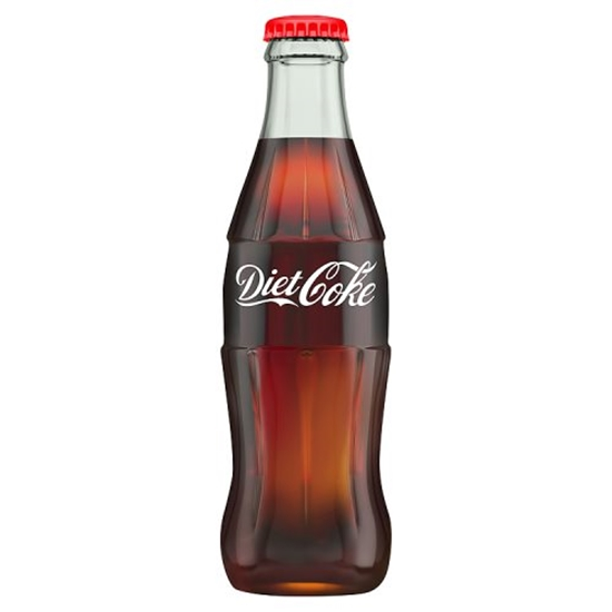 Picture of COKE *DIET *  GLASS 330ML  X 24